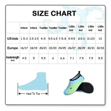 Load image into Gallery viewer, Kids Beach Water Shoes Green whale - Kkomforme