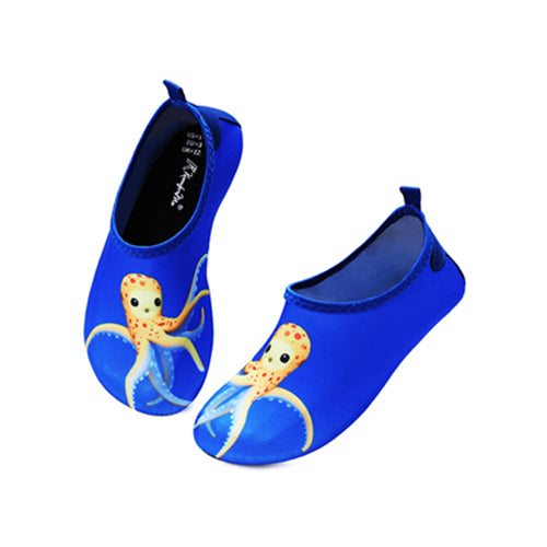 Boys and Girls Beach Water Shoes Yellow Octopus - Kkomforme