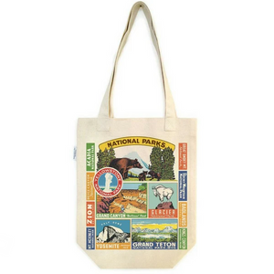 Cavallini National Parks Tote Bag