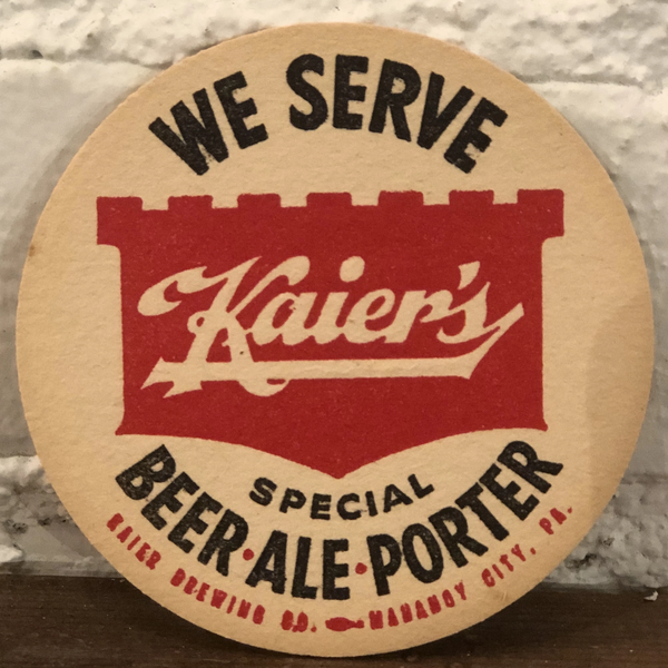Kaier's Beer Coasters, Set of 4