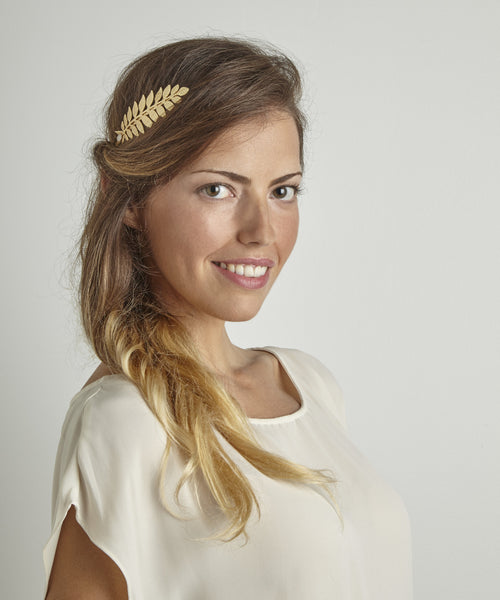 Pearl Athena Goddess Crown- Discounted Version