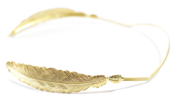 Big Feather Goddess Headband