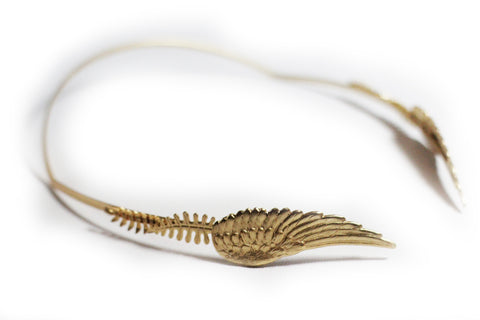 Big Angel Wing Goddess Headband