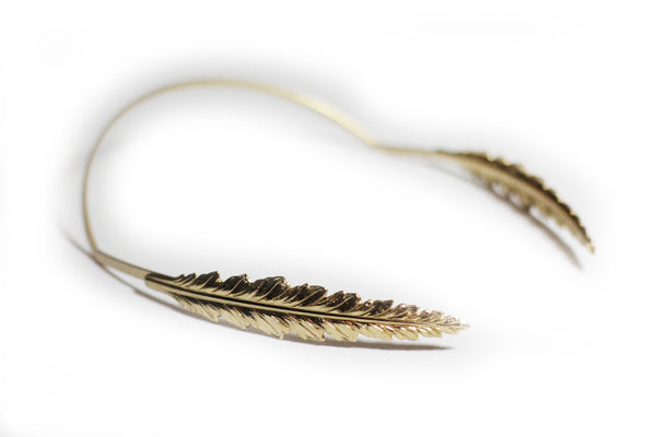 Indian Feather Goddess Headband