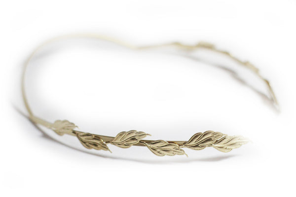 Field of Leaves Goddess Headband