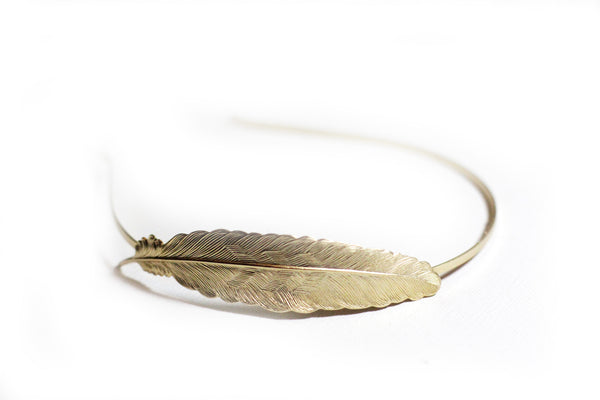 Big Feather Headband