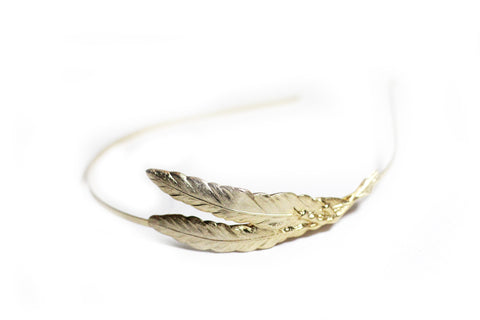 Double Feather & Claw Headband