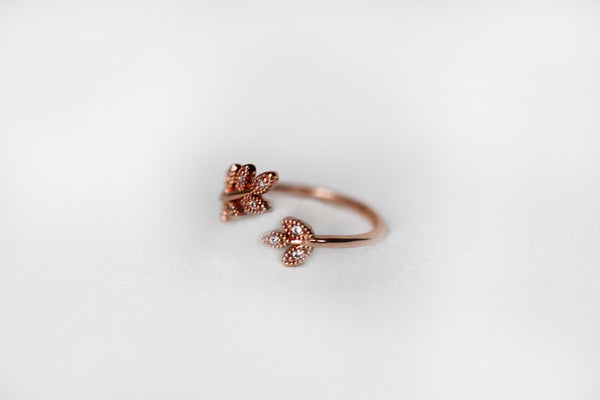 Maya Crystal Ring