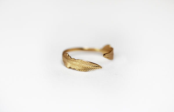 Indian Feather Ring