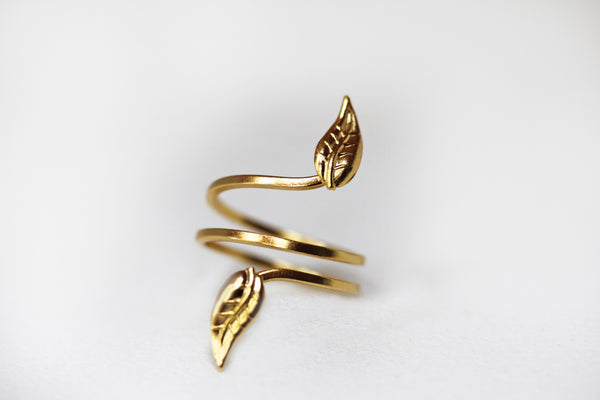 Growing Leaves Ring
