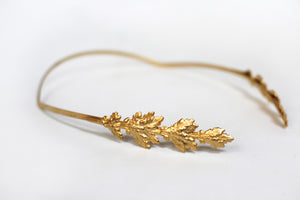 Oak Leaves Goddess Crown