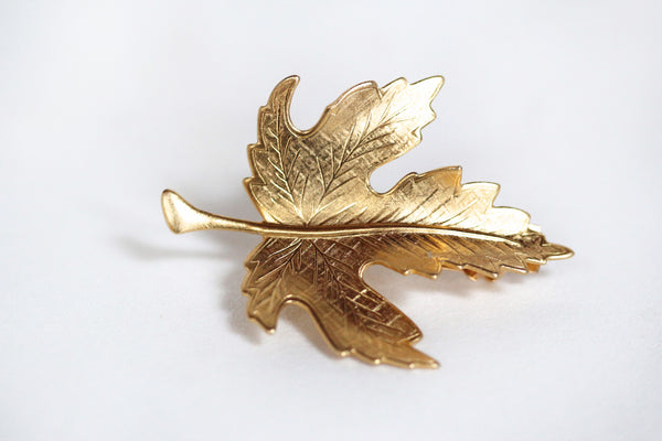 Fig Leaf Hair Clip