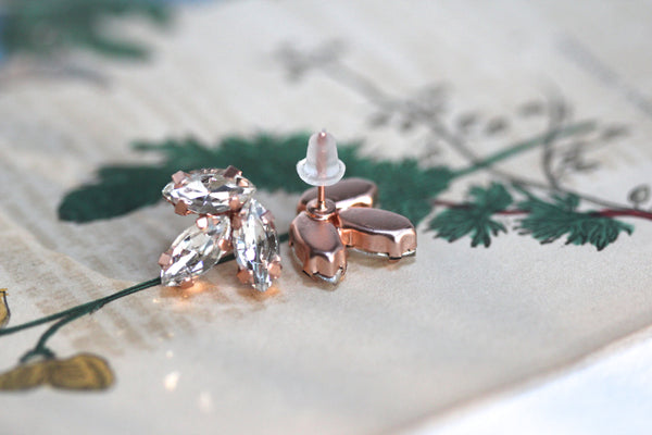 Anastasia Mini Crystal Earrings