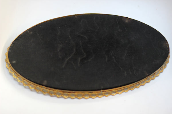Simple Lace Antique Mirrod Tray #118