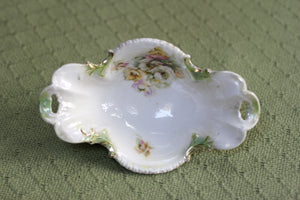 Antique Rare RS Prussia Floral Porcelain Bowl