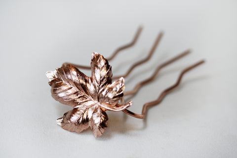 Fig Leaf Hair Stick