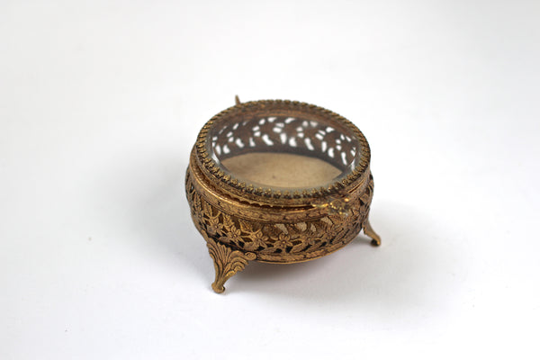 Vintage Matson Filigree Jewelry Box