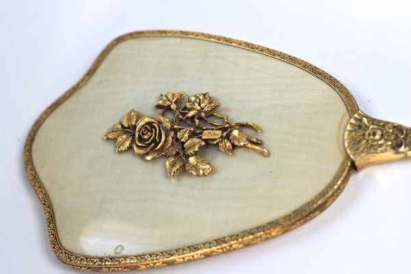 Antique Raised Roses Vanity Set
