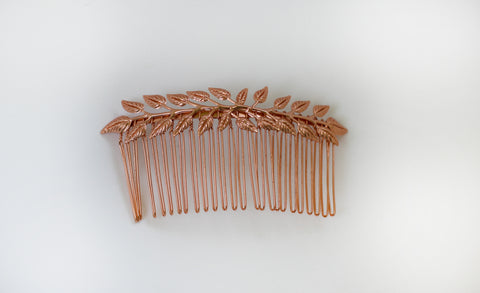 Double Olive Hair Comb