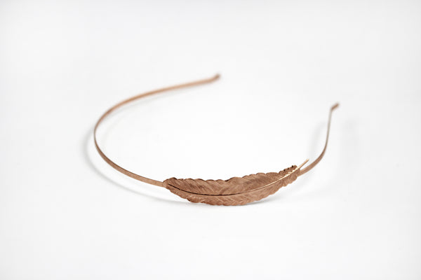 Medium Feather Headband