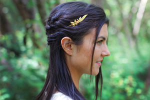 Asymmetrical Butterfly Goddess Headband