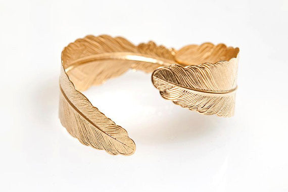 Feather Goddess Bracelet