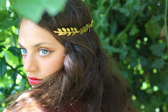 Full Fairy Crown Goddess Headband