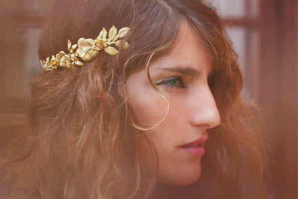 Blooming Floral Crown Goddess Headband