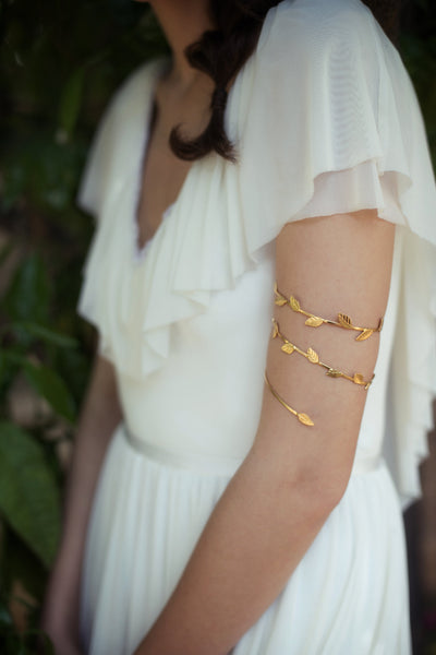 Delicate Wrap Around Branch Bracelet