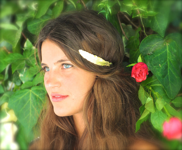 Medium Feather Goddess Headband