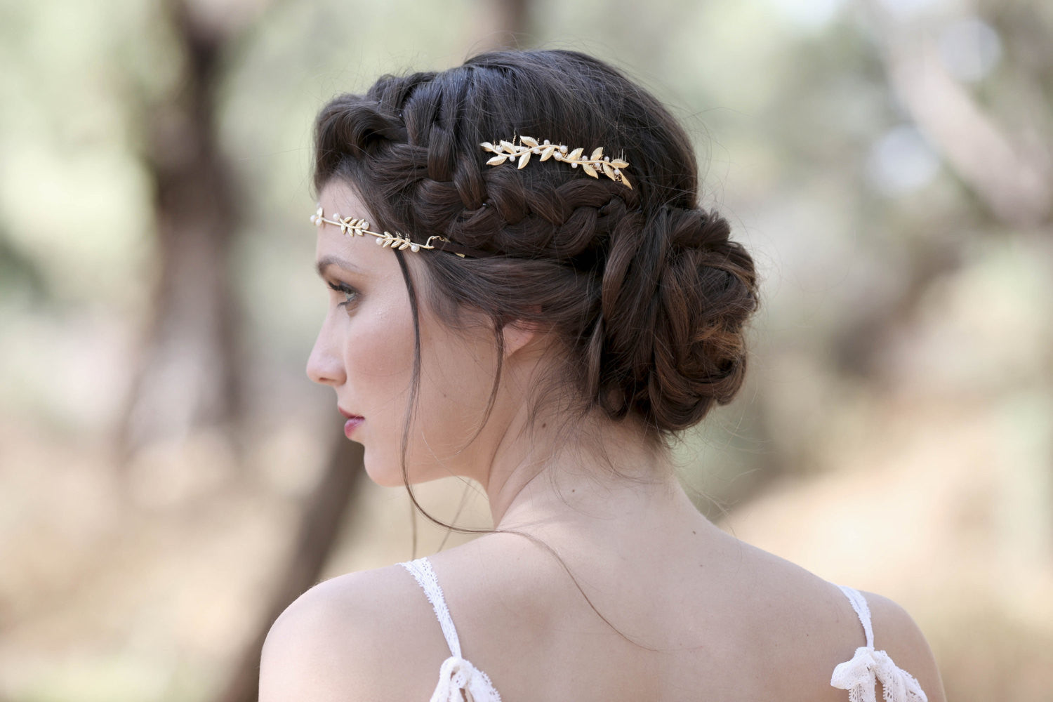 Twigs and Pearls Hair Comb