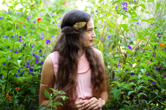 Flower Artemis Goddess Headband