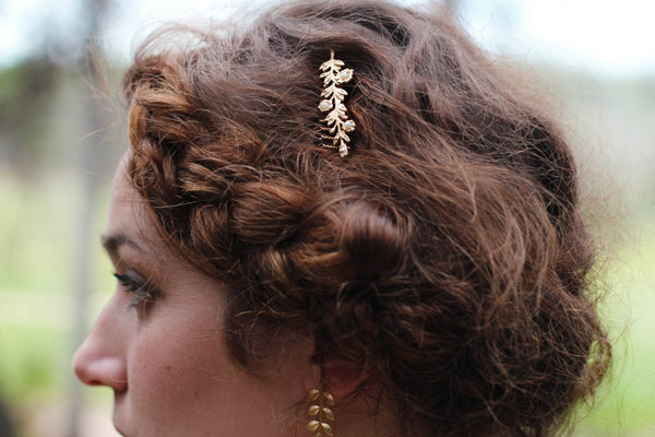 Single Flower Bouquet Hair Comb