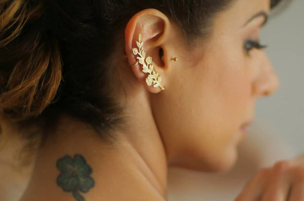 Blooming Bouquet Ear Cuff
