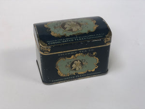 Antique Columbia Tea Co Tin Trinket