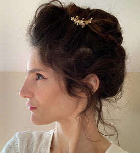 Spring Blossom Floral Hair Prong
