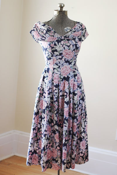 Vintage Floral Laura Ashley Dress