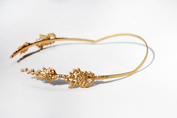 Branch Greek Goddess Crown- discounted version