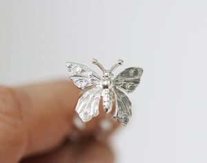 Tiny Butterfly Hair Prong