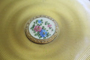 Antique Gold Floral Vanity Set