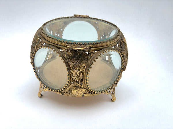 Antique Shell Stylebuilt Jewelry Box