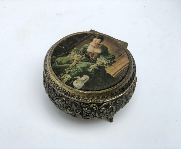 Vintage Made inJapan Music Jewellery Box