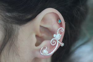 Fairy Swirls Ear Cuff