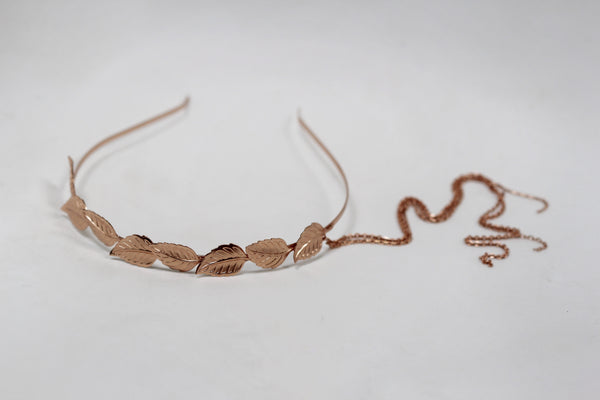 Chains Leaf Tiara