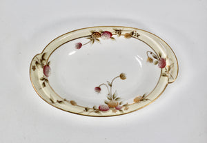 Antique Hand Painted Nippon Porcelain Dish