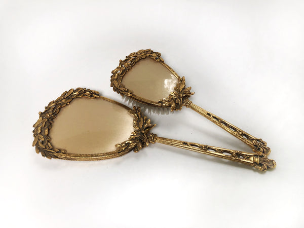 Antique Stylebuilt Gold Vanity Set