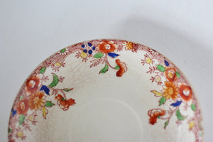 Vintage Floral Hand Painted Tea Cup Set