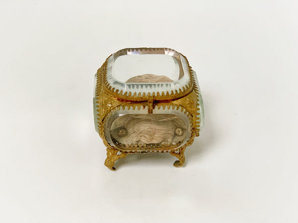 Antique French Victorian Jewelry Box