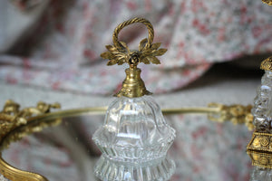Antique Floral Topper Perfume Bottle