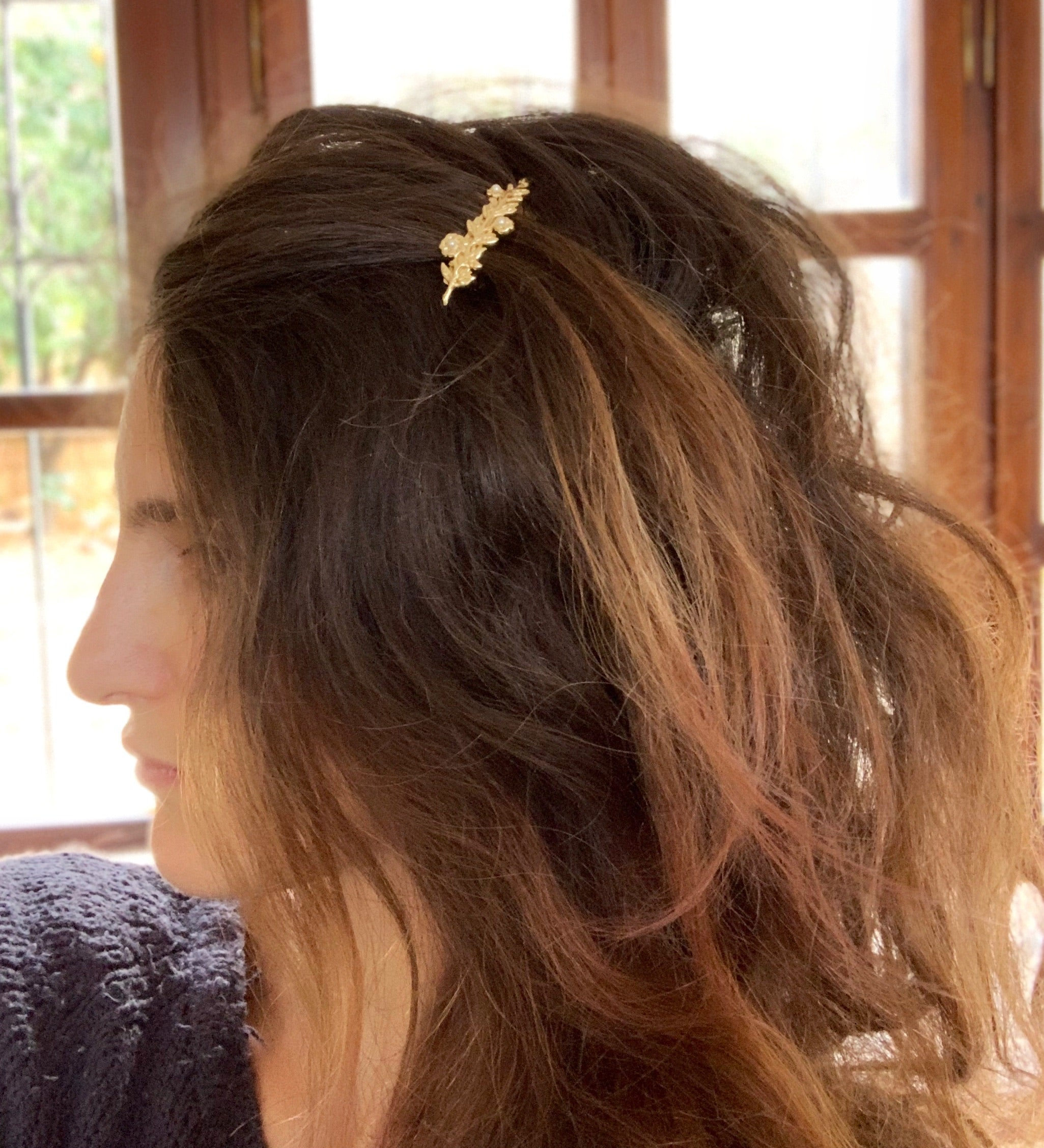 Blooming bouquets Barrette